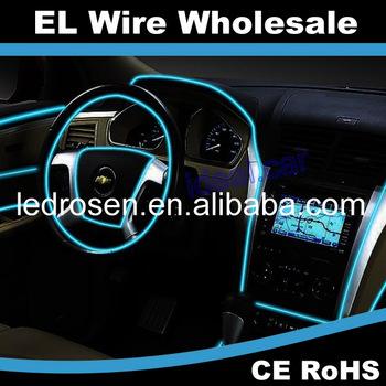 Car Interior Flexible El Wire Electroluminescent Lights - Buy ...