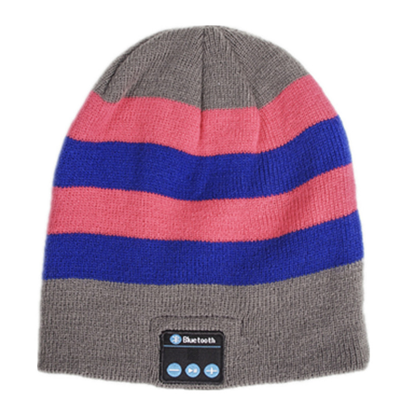 Beanie Hat with Bluetooth Wireless Speakers For Running Beanie Hat for Men Women