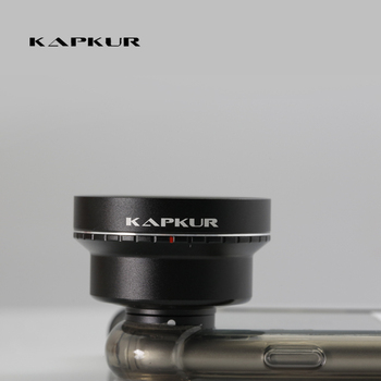 Kapkur mobile phone lens wide angle lens suitable for construction and large landscape