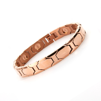 High Polished Health Care Jewelry Product 4000 Gauss Mens Magnetic Therapy Bracelets