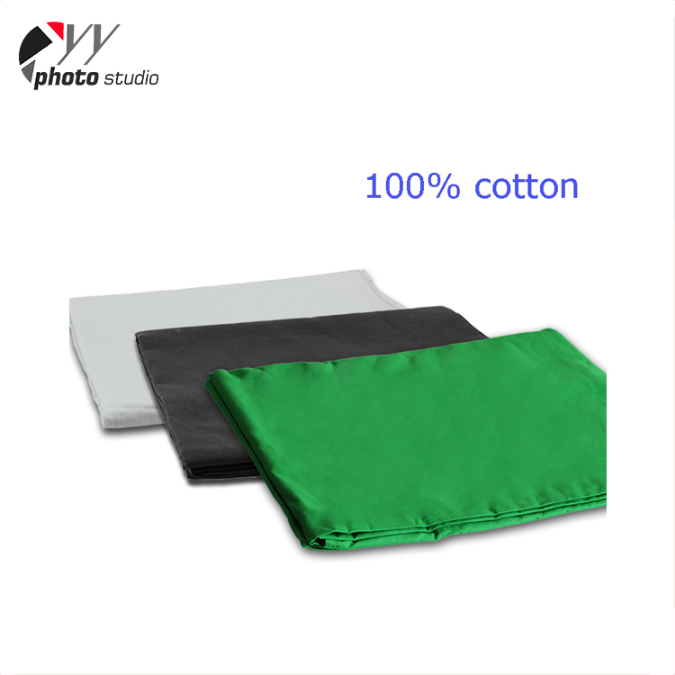 100% cotton chromakey muslin green screen 3m photography muslin backdrops