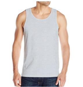 Custom Fashion Cotton Spandex Fabric Stringer Tank Top For Mens