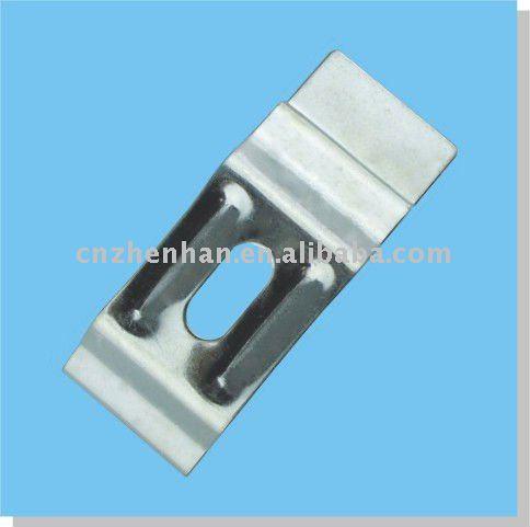 stahl platte wandhalterung splitter clip f r. Black Bedroom Furniture Sets. Home Design Ideas