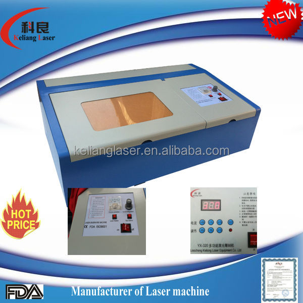 2014 hot salemanufacturer polymer laser stamp making machine