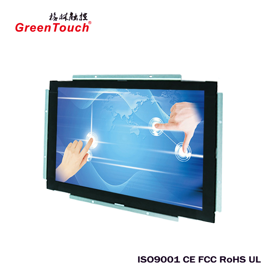 18.5-inch high brightness and resolution LCD Open Resistive touch all-in-one PC for advertisement and information