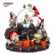 China import items decor cool personalized OEM handmade snow globe nativity resin Halloween water globe for kids gift home decor