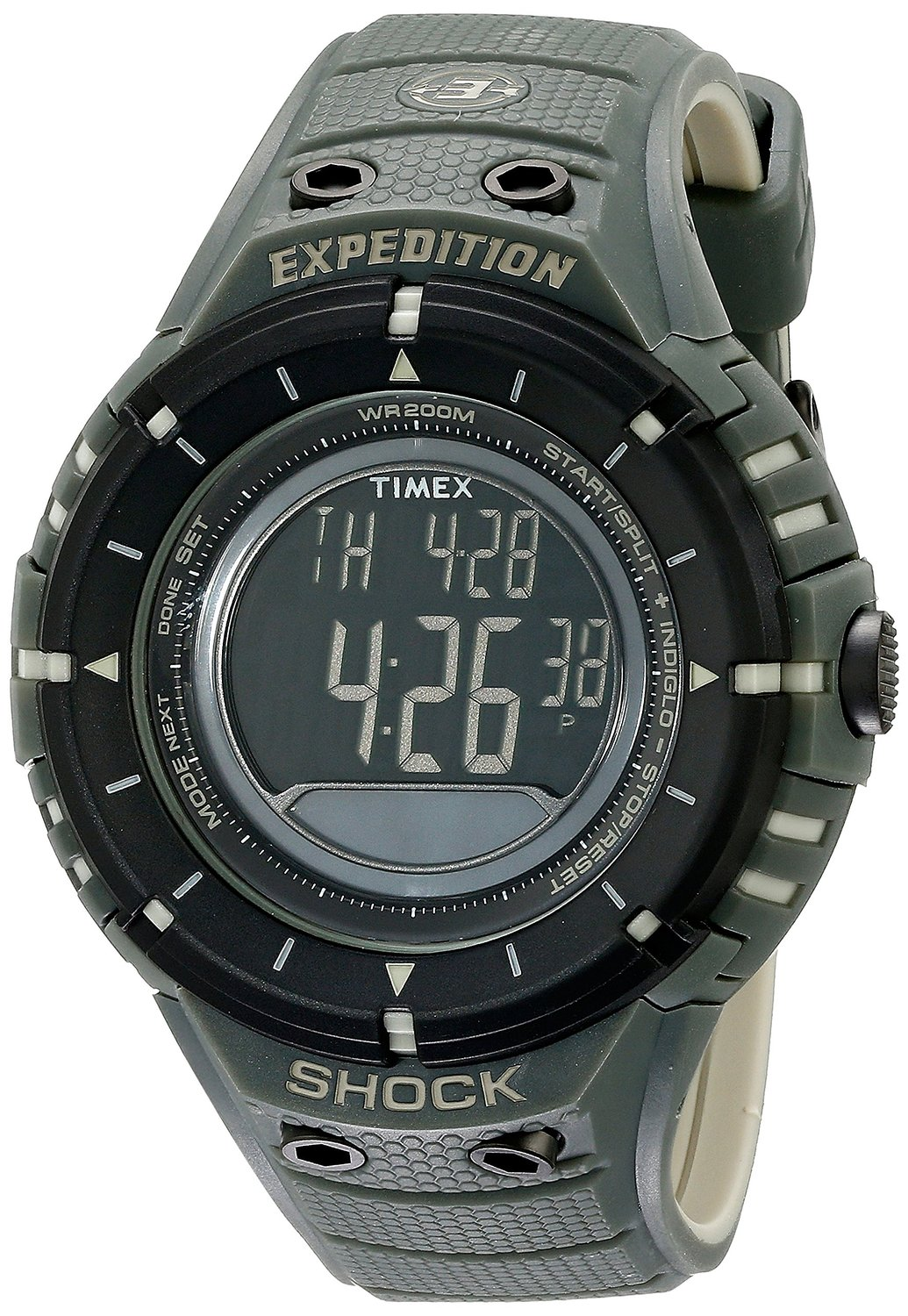 3ad52610cb5c Get Quotations · Timex Expedition Shock Digital Compass Watch