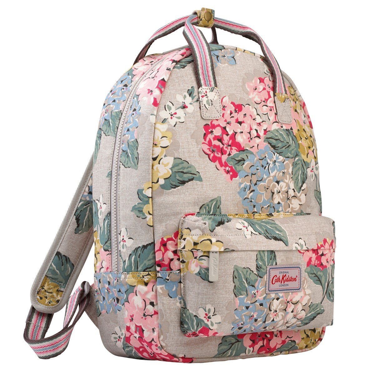 6c9d180be352c Buy Cath Kidston Small Cotton Backpack Rucksack Hydrangea Colour Oat ...