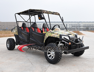 Top cheap Gas car 300cc 4 seats utv 4x4 buggy New product quad utv