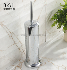 New design Stainless steel vertical toilet brush holder