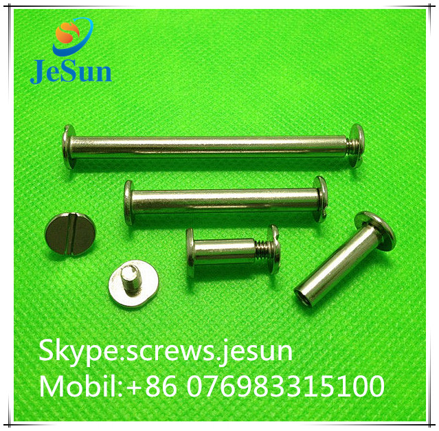 China fastener manufacturer male and female brass screw