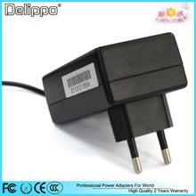Delippo Original EU Plug 12V 1.5A  FOR lenovo S1 K1 Y1011 the music pad tablet PCs charger power adapter transformer 12V 1.5A