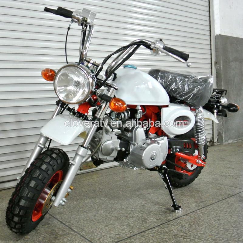 Hot Sale 4 Stroke 50cc Dirt Bike Monkey Bike With Kick