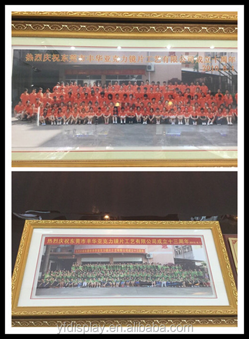 Hot Sell Clear Acrylic Photo Frame For Home Decoration