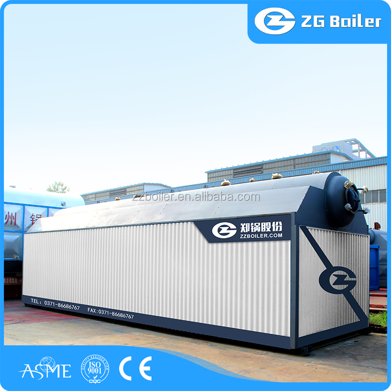 Class A energy-saving small vertical coal/wood fired steam boiler for home