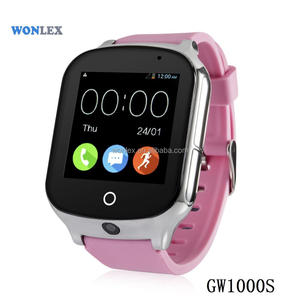 2018 hot sell model 3G gps watch with different language