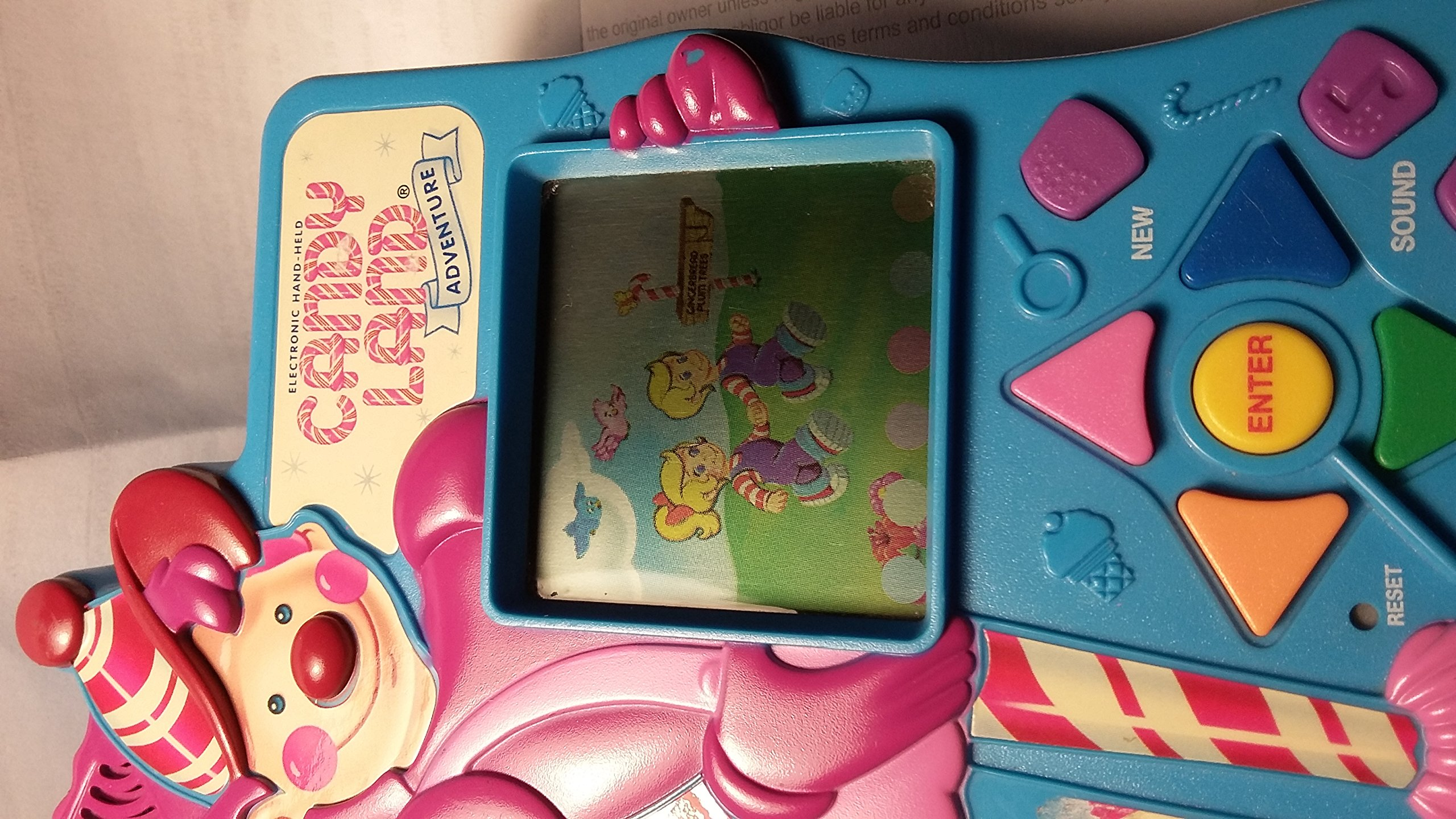 1997 Milton Bradley Company Milton Bradley Electronic Hand-Held Candy Land Adventure LCD Game #4820