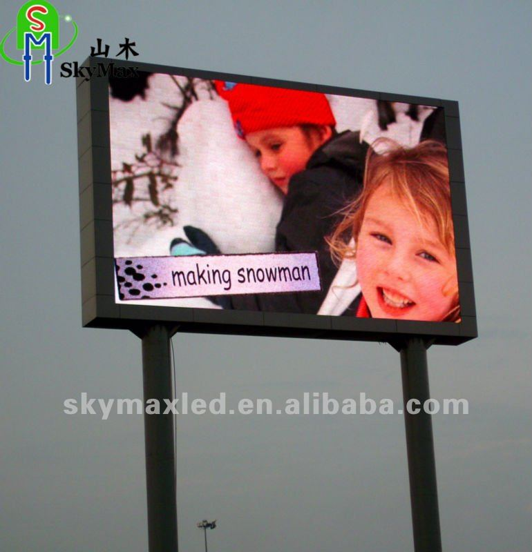 P16 Full Color Outdoor Electronic digital LED Billboard