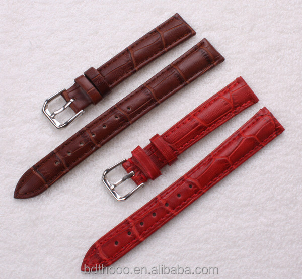Custom colors for apple iwatch leather bands cheap watch bands factory welcome OEM wholesale