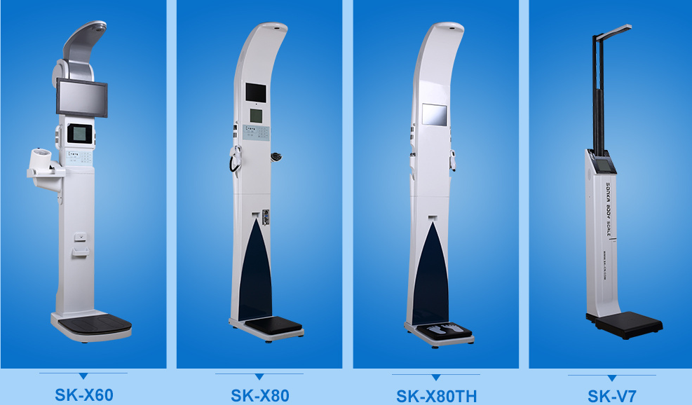 Sk-x80th Measuring Height Weight Bmi Blood Pressure Blood Oxygen ...