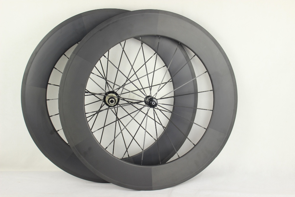 88mm clincher carbon bicycle spare parts cycling wheelset for racing wheel carbon