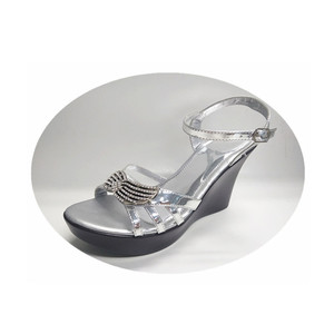 Ladies casual high heel fancy sandals and women's shoes sandal
