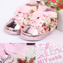 Newborn Shoes Baby Cartoon Princess Baby Girls Toddler Rose Shoes Soft Bottom Shoes