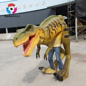 Entertainment Adult Walking with Robot Dinosaurs Costume Pictures