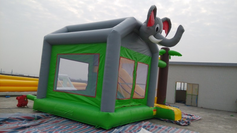 GMIF playground outside inflatable combo on funny park inflatable bouncer house