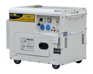 5kw Diesel Generator Open Type 186FA 100% Copper Winding Electric Start With Battery Air Cooled Three Phase