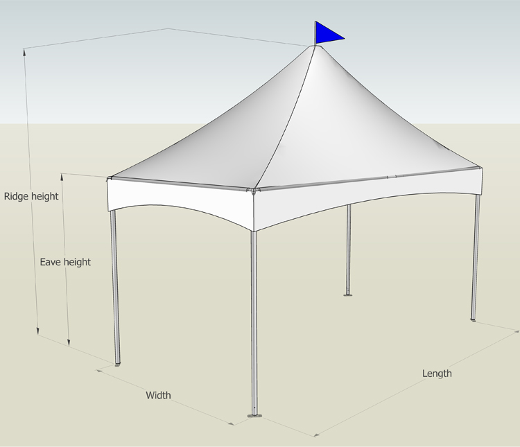 supernacular cabin tents peak popular Sandy land
