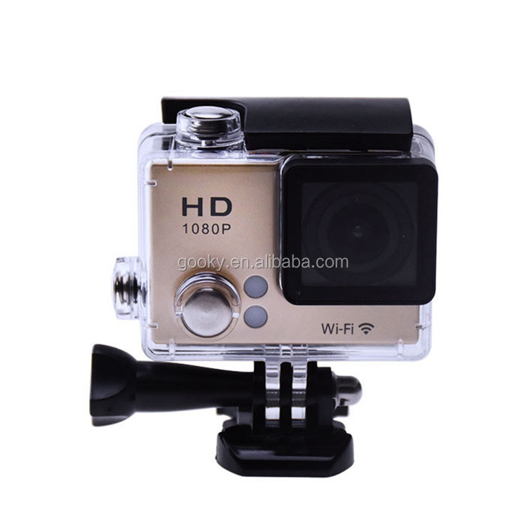 Factory cheap waterproof full hd 1080p sports camera WIFI sports action camera