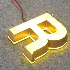 Acrylic mini bright luminous characters led sign channel letter