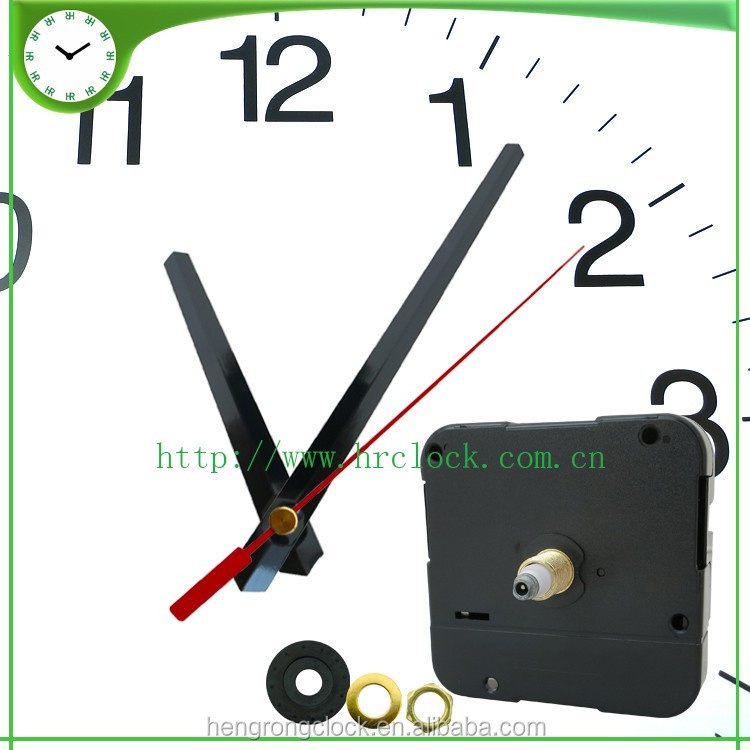 LARGE HANDS AND HIGH TORQUE CLOCK MOVEMENT CLOKC KITS China Supplier