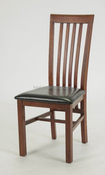 Antique Wooden Dining Chairs antique wooden high back armless dining chair/ restaurant chair(ch
