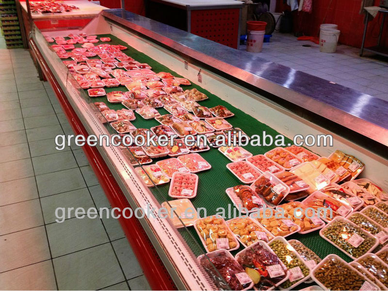 Butcher Shop Meat Market and Grocery Store Fresh Meat Display Case Lighting