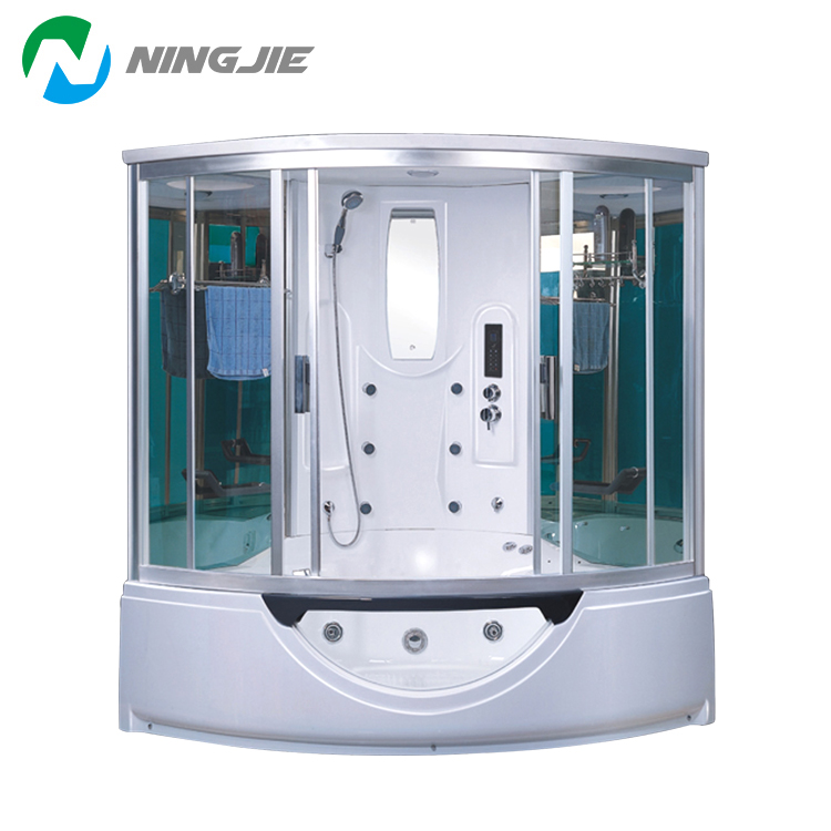 Computer Control Panel Steam Shower Room With Hydro Massage Buy