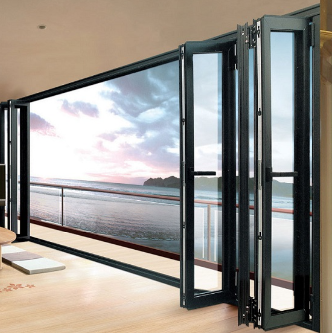 Folding Glass Doors, Folding Glass Doors Suppliers And Manufacturers At  Alibaba.com