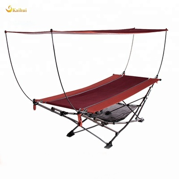 Premium Quality Portable Folding Hammock With Canopy Buy Folding