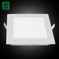Hot sale 3W-24W square round LED lighting recessed ceiling led panel light
