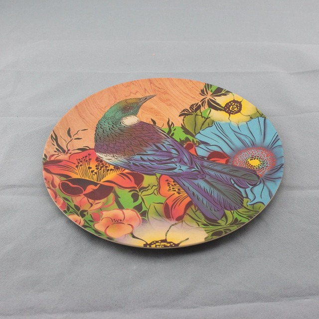Low Price Biodegradable Printing Melamine Dinner Plates Colorful Bamboo Fiber Plate & China Biodegradable Plate Colored Wholesale ?? - Alibaba