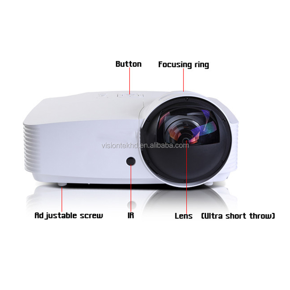 VS827 New Arrival interaction between teachers and students 1080p DLP ultra short throw projector india