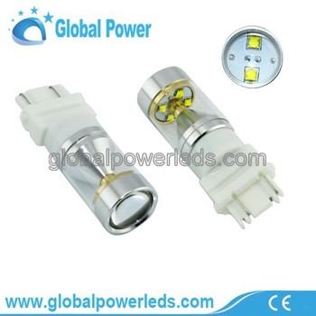 3157 30w Crees Led Brake Stop & Tail Light Car Bulbs 12v 27/7w ...