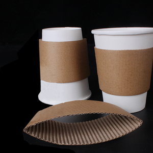 Recycled Paper cup Sleeve for heat protection