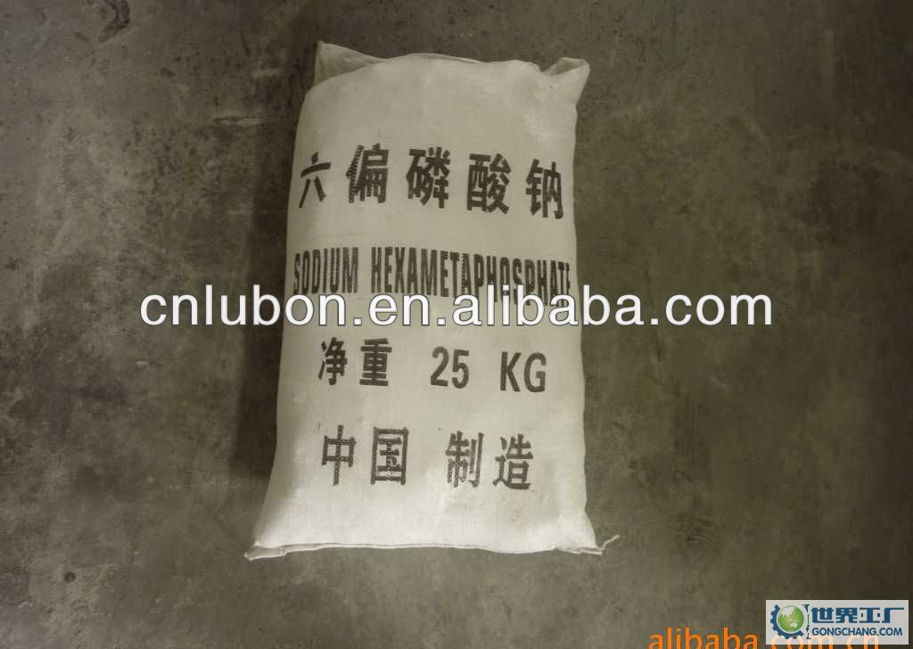 sodium hexametaphosphate 68% purity