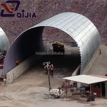 Culvert Under Roads Special Type Corrugated Metal Tube