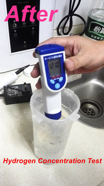 Portable ionizer hydrogen-rich Water maker