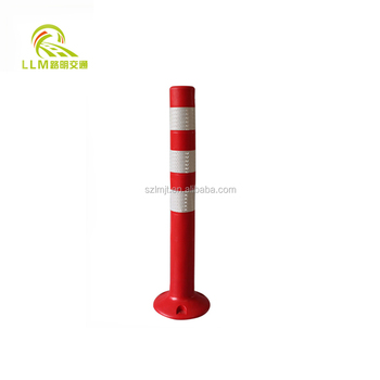 Factory supply skillful manufacture outstanding flexible post for road safety