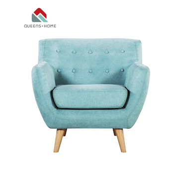 Sensational Queenshome Accent Seat Reading Antique Armchair Small Curved Couch Best Living Room White Blue Fabric Chair Sofa Mini Chairs Buy Single Chair Gmtry Best Dining Table And Chair Ideas Images Gmtryco