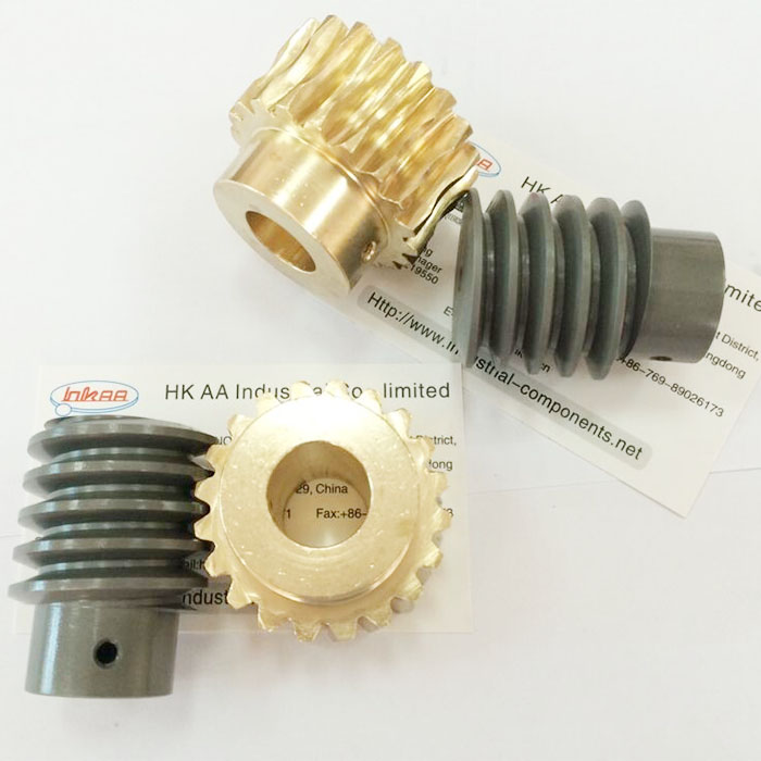 Pabrik Kustom Brass Telescope Worm Gear Set Presisi Worm Gear
